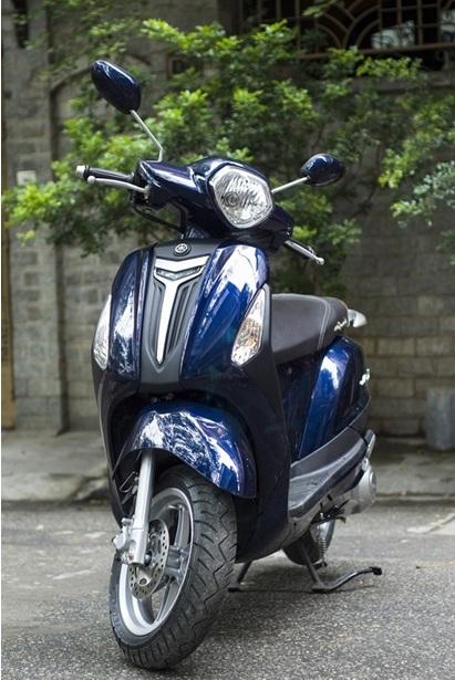 Grande hiện là xe tay ga 125cc tiết kiệm nhiên liệu nhất của Yamaha.