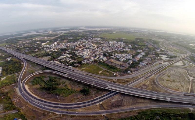 Tuyến cao tốc TP.HCM – Long Thành – Dầu Giây nhìn từ trên cao