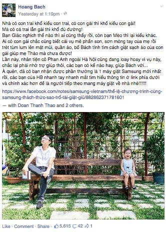 Hình Facebook Hoàng Bách
