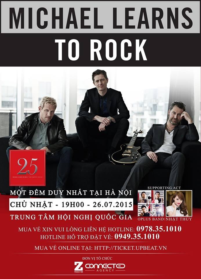 Ban nhạc Michael Learns To Rock sắp biểu diễn tại VN