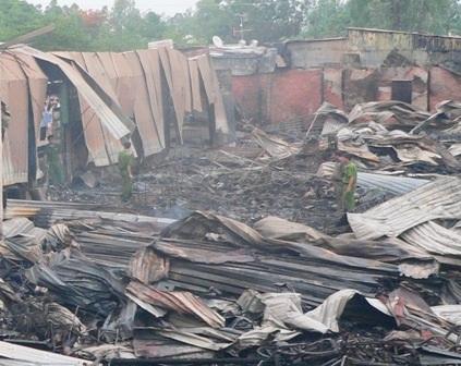 Hiện nguyên nhân vụ cháy đang được Cơ quan điều tra xác minh làm rõ