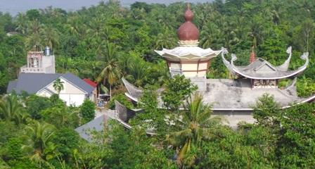 Căn biệt thự cạnh chùa Bồ Đề mà sư Tấn đang ở khi hết việc ở chùa