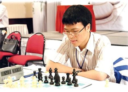 Để thua ở vòng 5, Quang Liêm khó vô địch giải châu Á
