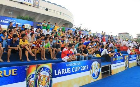 Giải đấu đã nhận được sự cổ vũ của hàng nghìn người hâm mộ thủ đô