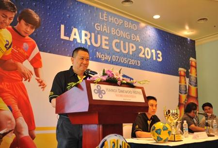 Ông Larry Lee - Tổng giám đốc Công ty TNHH Nhà máy bia Châu Á Thái Bình Dương - Hà Nội