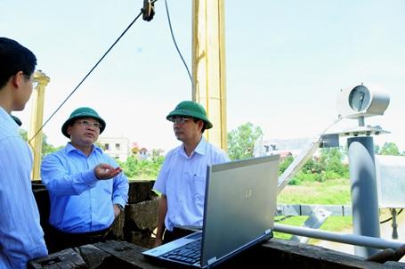 Thử nghiệm hệ thống thông tin giám sát hồ chứa đầu tiên ở Việt Nam - 1