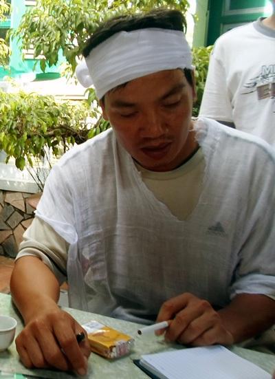 Anh Nguyễn Mậu Công bức xúc trước cái chết không bình thường của bố mình.