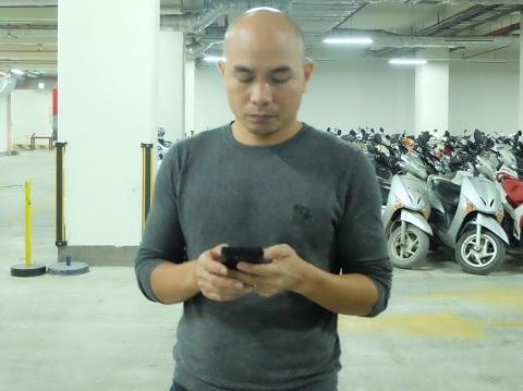 Anh Nguyễn Đức Quân chia sẻ với phóng viên về việc Parkson Keangnam đột ngột tạm dừng kinh doanh