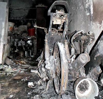 Hiện trường vụ cháy khiến 5 người thiệt mạng vừa xảy ra tại Hà Nội