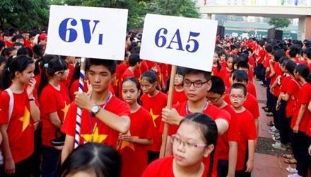 Sở GD&ĐT Hà Nội nghiêm cấm việc thực hiên thi, sát hạch đầu năm để chọn học sinh xếp lớp
