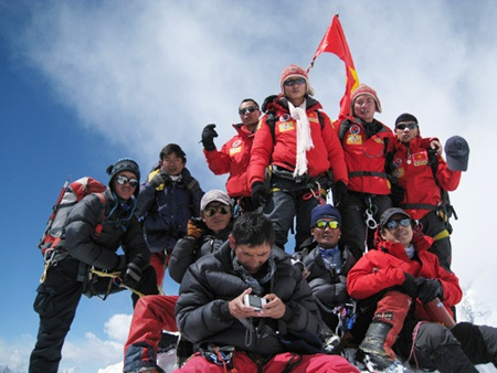 Gặp người hùng đi tìm vinh quang trên đỉnh Everest