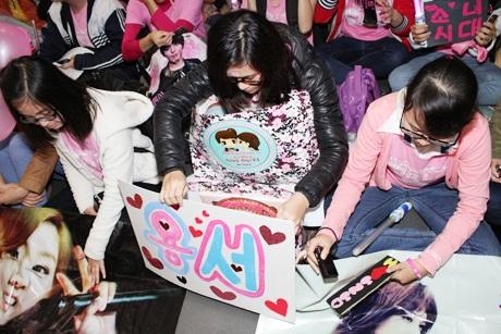 Các bạnchuẩn bị nhiều quà tặng dành cho SNSD