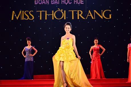 Top 5 cô gái của Miss Thời trang ĐH Huế.