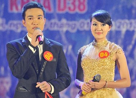 Cặp đôi giành giải nhất Hương Quỳnh - Văn Chiến