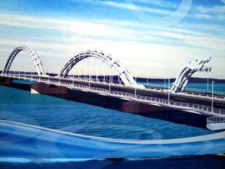 Cầu Rồng, một điểm nhấn kiến trúc độc đáo, sẽ được đưa vào sử dụng đúng ngày 29/3/2013.