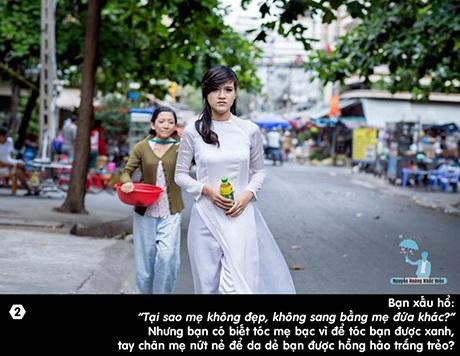 Câu chuyện thứ 2: Tại sao mẹ không đẹp, không sang bằng mẹ đứa khác?