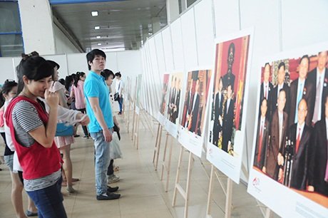 Triển lãm tranh ảnh mang chủ đề quan hệ Việt Nam - Nhật Bản