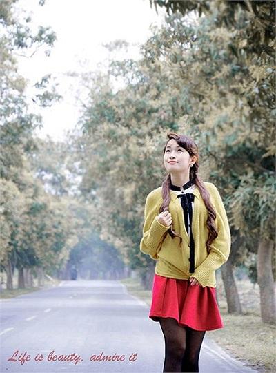 Hiền là cô gái Hà thành, hiện đang học MBA tại Đài Loan