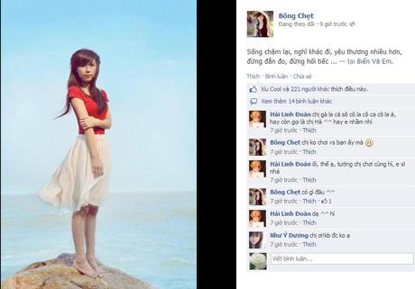 Góc ảnh đẹp tại Sầm Sơn của bạn gái nickname Bông Chẹt