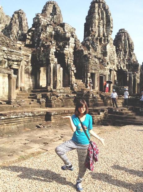 Trang Tooc xì-tin tại Campuchia.