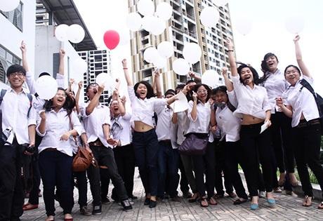 Niềm hạnh phúc của các học sinh chuyên Ams
