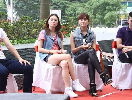 Linh Rin và Hà Lade mang hai phong cách thời trang khác nhau tham dự sự kiện đổi đồ