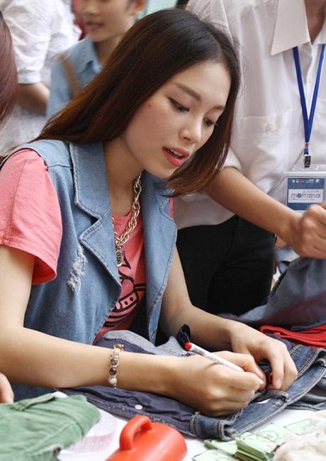 Linh Rin khá bận rộn
