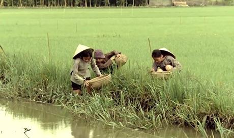 Hình ảnh Việt Nam gần gũi thân thương trong clip