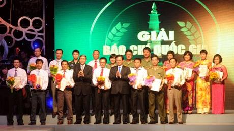 Phát biểu của Thủ tướng tại Lễ trao Giải Báo chí quốc gia