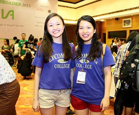 Các nữ sinh Việt xinh xắn đang học tại ĐH Lycoming, Mỹ