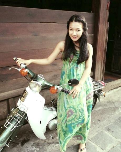 Nguyễn Ly Hương trong một ảnh đời thường