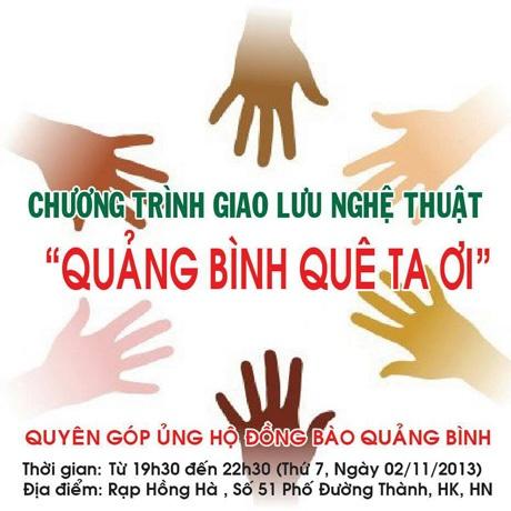 Chung tay sẻ chia cùng đồng bào Quảng Bình
