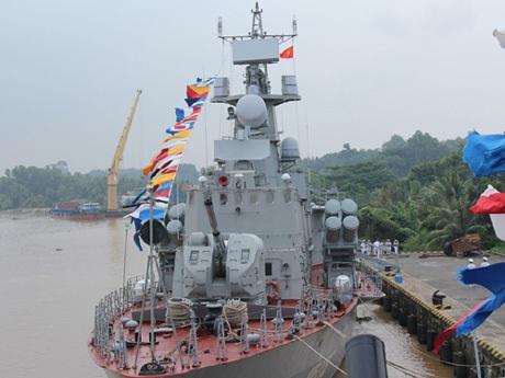 Tàu pháo - tên lửa hiện đại vừa chính thức ra mắt ngày 14/10