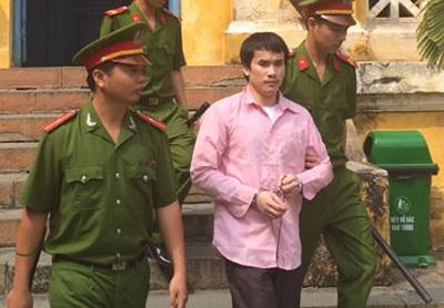 Bị cáo Huỳnh Quyết Tâm.