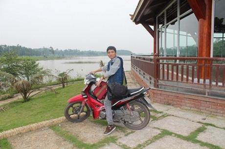 """Giáp Văn Hải đã từng kinh qua nhiều chuyến """"phượt"""" với vai trò xe ôm kiêm hướng dẫn viên"""