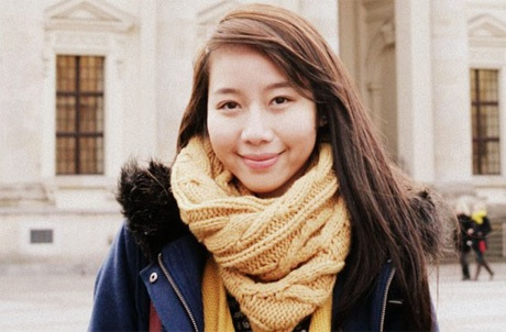 Nữ nghiên cứu sinh Linh Trang.