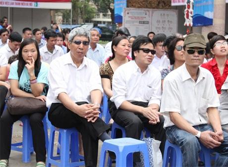 Gian hàng của sinh viên ĐH Mỹ thuật công nghiệp Hà Nội