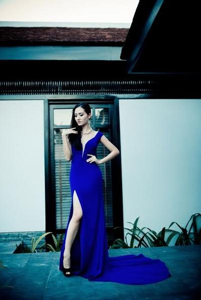 Dương Hiểu Ngọc điệu đà trong thiết kế của Tommy Nguyễn