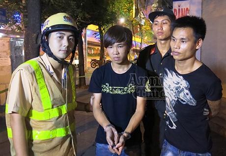 Song Tuấn bị tổ công tác bắt giữ