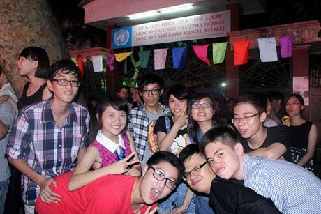Đêm hội đã để lại trong lòng các teen Kim Liên những kỉ niệm đẹp khó quên