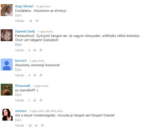 Và những lời bình luận khen ngợi dành cho Đức Long.