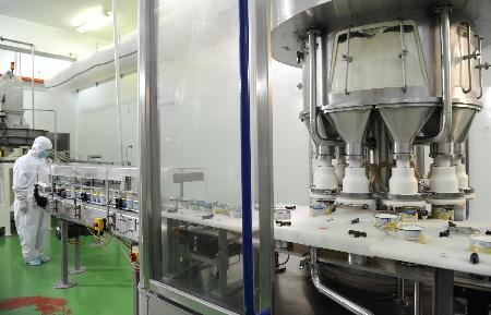 Dây chuyền sản xuất sữa bột Dielac hiện đại, khép kín của Vinamilk