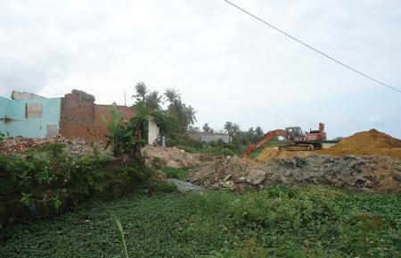 Người dân trong khu vực đang sống hoàn cảnh rất khó khăn