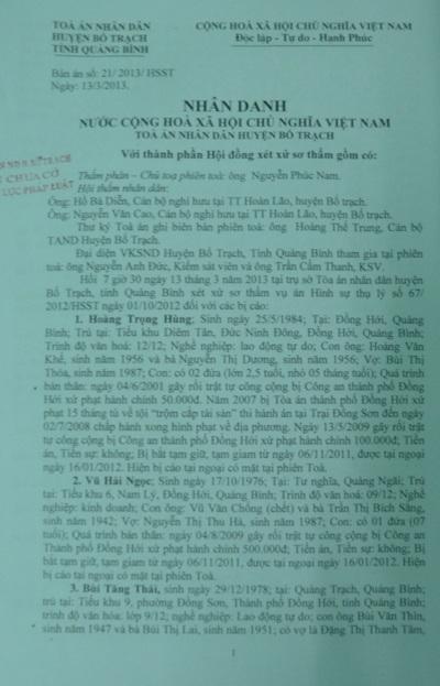 Anh Phan P. Dcho rằng bản án sơ thẩm đưa ra chưa đúng người đúng tội