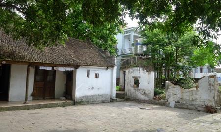 Nhà thờ họ Hoàng đã tồn tại từ hàng trăm năm tại xã Uy Nỗ