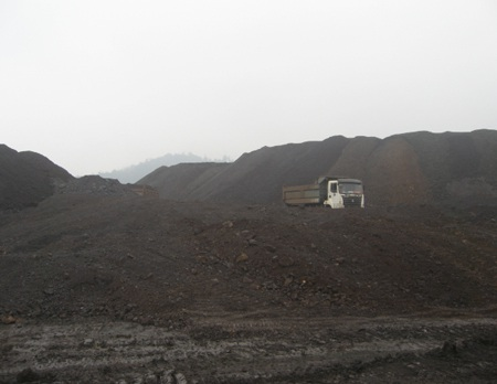 Lô quặng đang là tài sản thế chấp tại Ngân hàng BIDV Bắc Hà Nội