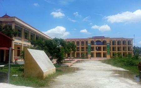 Trường THCS Cẩm Vũ nơi thầy Nguyễn Văn Kiên đang công tác
