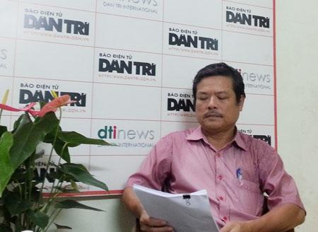 Ông Nguyễn Tiến Dũng đề nghị các cơ quan bảo vệ pháp luật xem xét lại vụ án