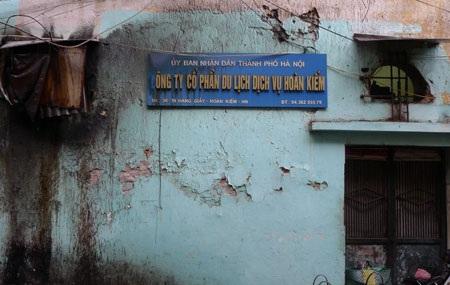 Vi phạm của Công ty Du lịch Hoàn Kiếm đã tồn tại nhiều năm