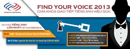 Hội thảo về Tiếng Anh lớn nhất Việt Nam